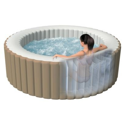 intex 75 purespa inflatable bubble therapy hot tub would. Black Bedroom Furniture Sets. Home Design Ideas