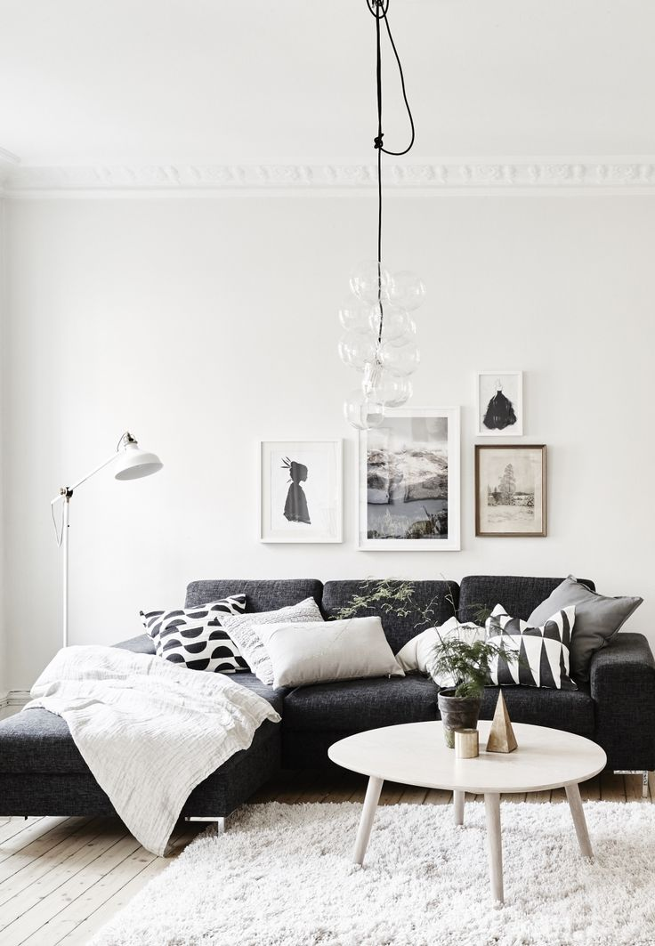 25 best ideas about black living room furniture on - White and black living room furniture ...