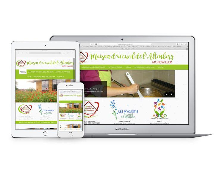 Conception du site Internet de la Maison d'accueil de l'Altenberg