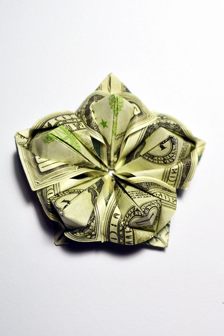 52 best money flowers origami images on pinterest beautiful money flower tutorial diy decoration how to make a money flower quickly and easily easy this video shows step by step how to make a money flower mightylinksfo