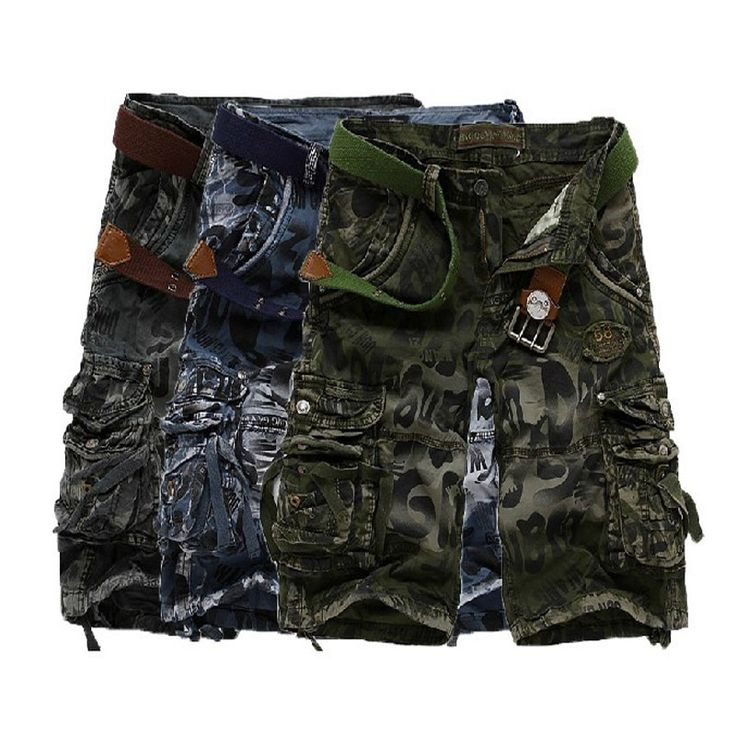 >> Click to Buy << 2017 new men's casual pants pocket pants cotton camouflage multi tooling five pants #Affiliate