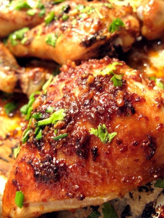 Delicious chili chicken