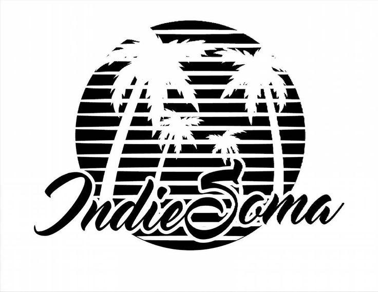 Indie Soma /// un diseño colaborativo por parte del @luismdisign. 🌴🌴🌴🌴🌴 #indiesomacultura #palmeras #fresh #playa #caribe #diseño #vector
