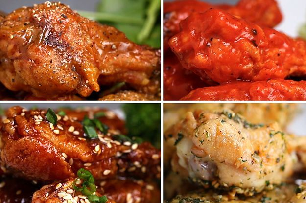 These 8 Types Of Baked Chicken Wings Are Perfect For Game Day