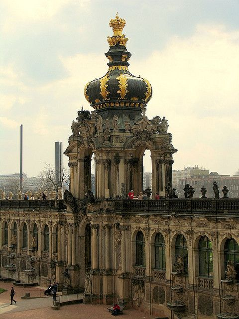 Dresden, Germany was so beautiful. I want to go back.