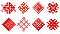 Образцы белорусского народного орнамента