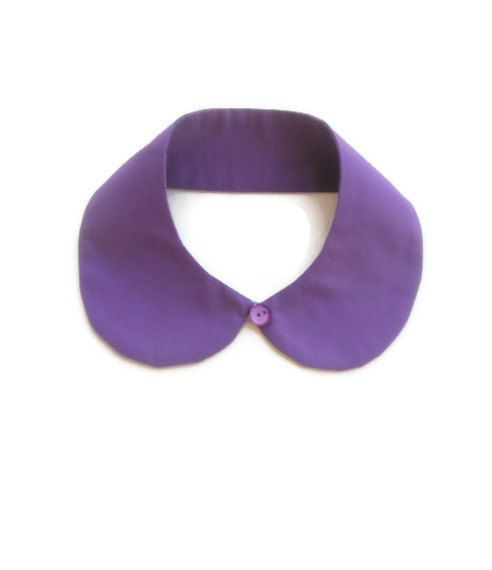 Purple Peterpan Collar by NurayAytac on Etsy, $25.00