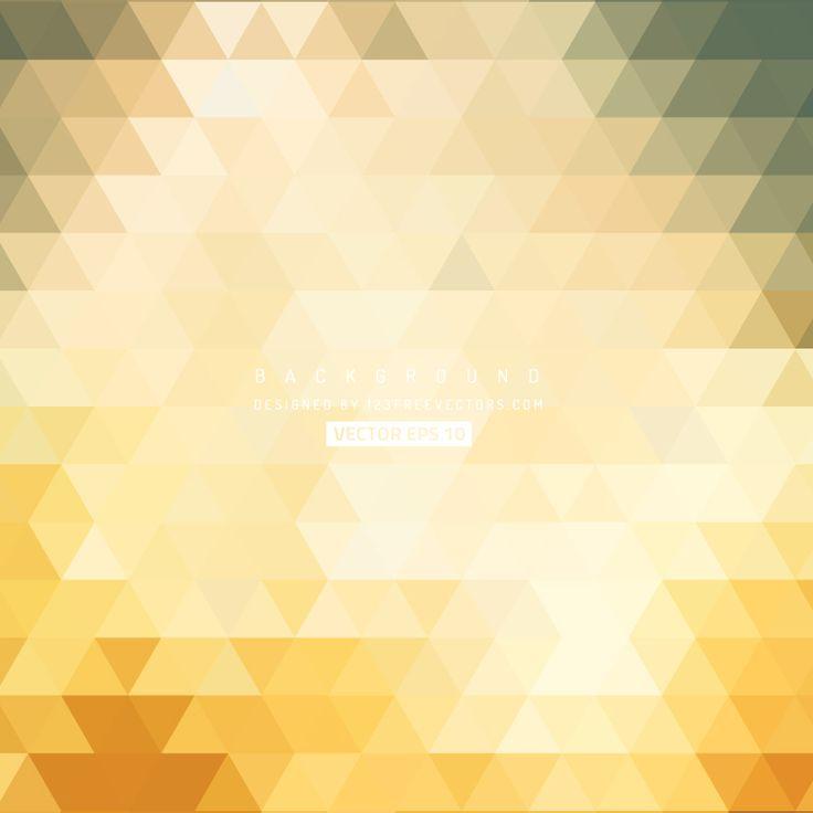 Beige Orange Triangle Background Vector  - https://www.123freevectors.com/beige-orange-triangle-background-vector/