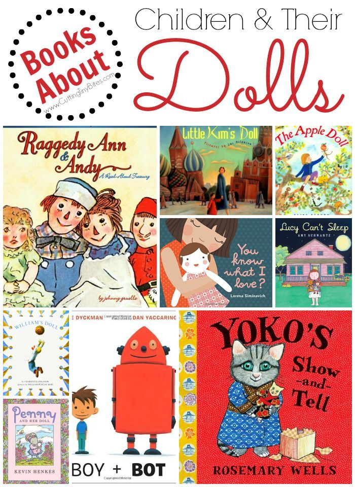 Childrens picture books that capture the special relationship between children and their dolls.  Brief reviews of each. #booklist #dolls #kidslit