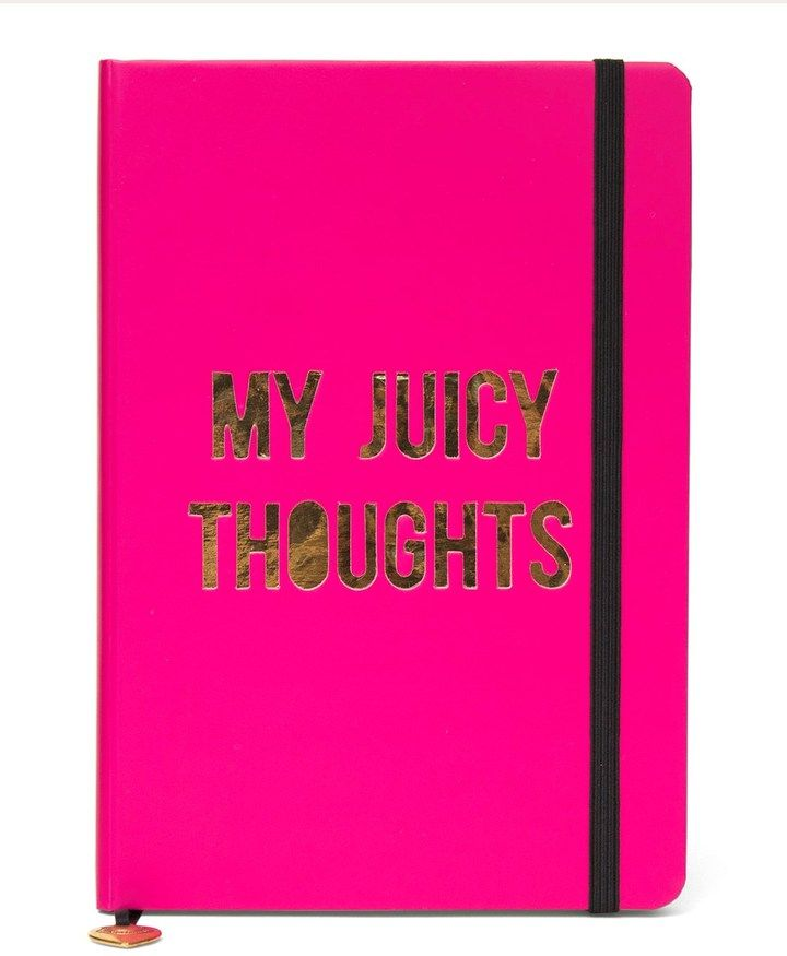 My Juicy Thoughts Bound Journal Get it here >https://api.shopstyle.com/action/apiVisitRetailer?id=531376759&pid=uid8025-34776805-65&site=www.shopstyle.co.uk