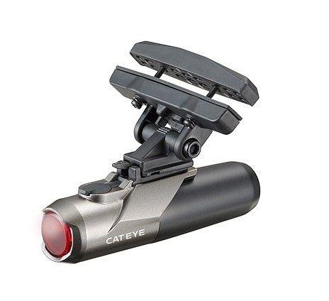 Kot tylne światła rowerowe CATEYE 460RC mini USB akumulator latarka styl kask lampy tylne siodło