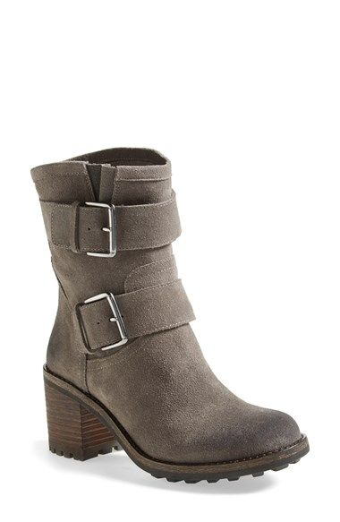 The Fall is all about the moto boot - love this distressed one!
