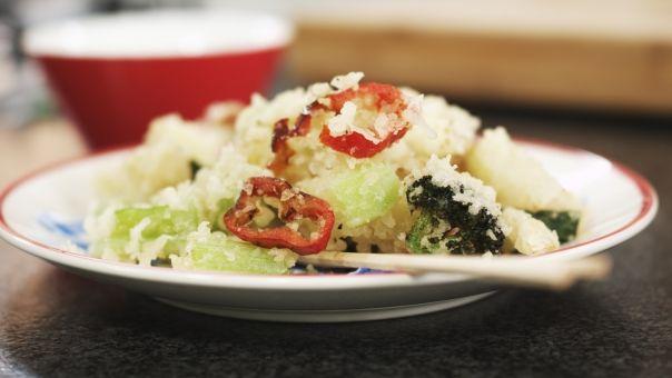 Eén - Dagelijkse kost - tempura van groenten