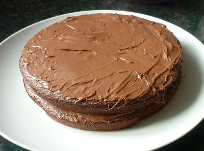 A collection of Slimming World recipes.: Scan bran chocolate cake