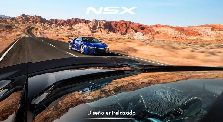 La forma y funcionalidad se juntan en un diseño exterior entrelazado donde cada detalle mejora el rendimiento. #ADNAcura #NSXenLeon