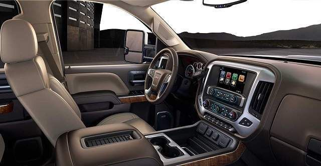 2019 GMC Sierra 2500HD interior | Gmc sierra, Chevrolet ...