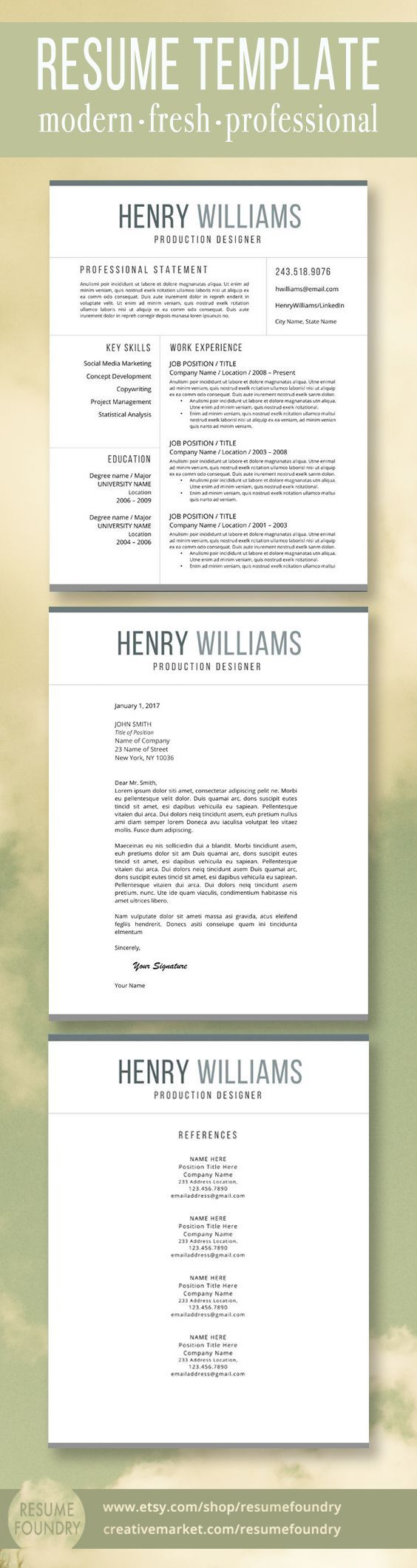 207 best professional resumes from resume foundry images on