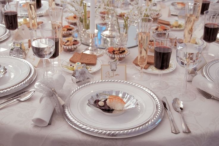 Disposable China For Wedding Receptions Disposable Dinnerware Silver Master