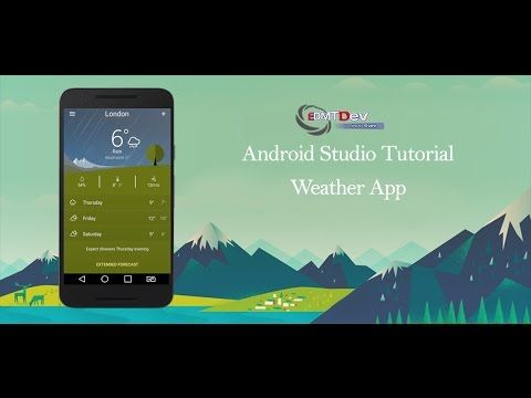 Android Studio Tutorial - Weather Application - YouTube