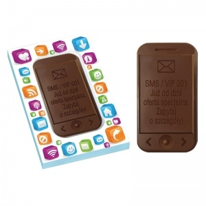 Choco Smartphone - czekoladowy smartphone / chocolate smartphone