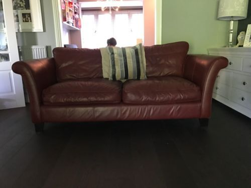 2-DFS-Leather-Sofas-in-Cognac