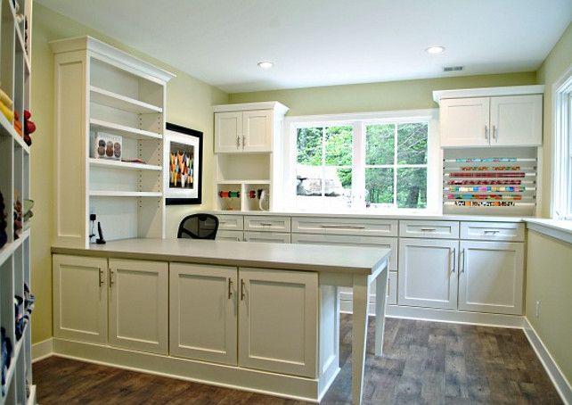 Craft Room Cabinet Design. Craft Room Cabinet Ideas. Craft Room Cabinet. #CraftRoomCabinet Dwellings Interior Design.