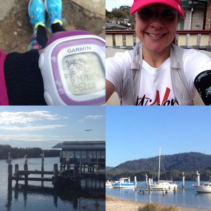 Some views of today's run x