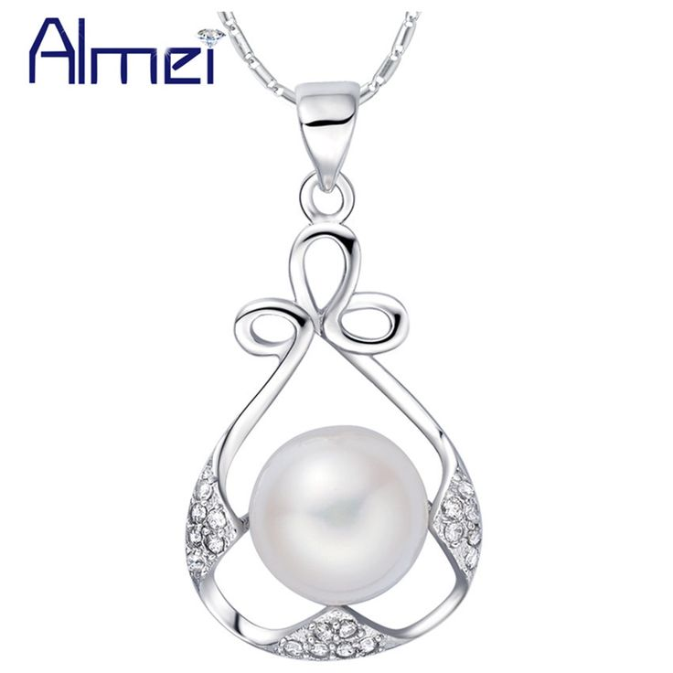 Find More Pendant Necklaces Information about Collares Mujer Necklace 925 Sterling Silver Simulated Pearl Womens Jewellery Crystal Fashion Accessories Gift 2015 Ulove N1079,High Quality accessories cable,China accessories plastic Suppliers, Cheap accessories cctv from ULove Fashion Jewelry Store on Aliexpress.com