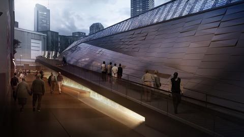 World's Coolest Electrical Substation Has A Track And A Dog Park | Co.Design | business + innovation + design