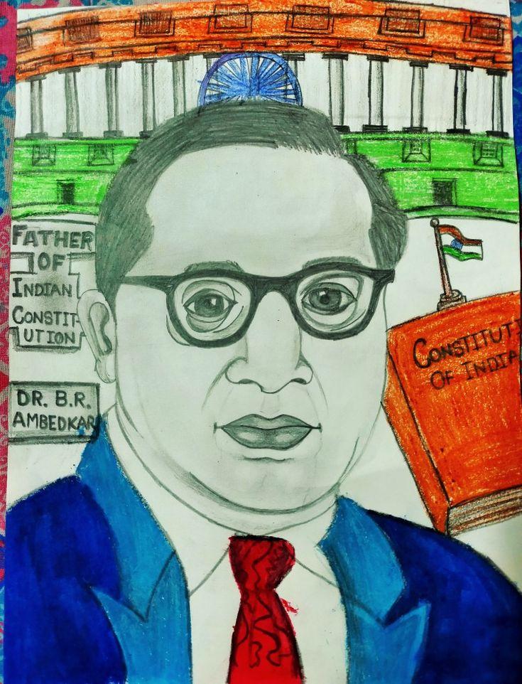 Dr. Bhimrav ambedkar in 2020 | Drawings, Sketches, Male sketch