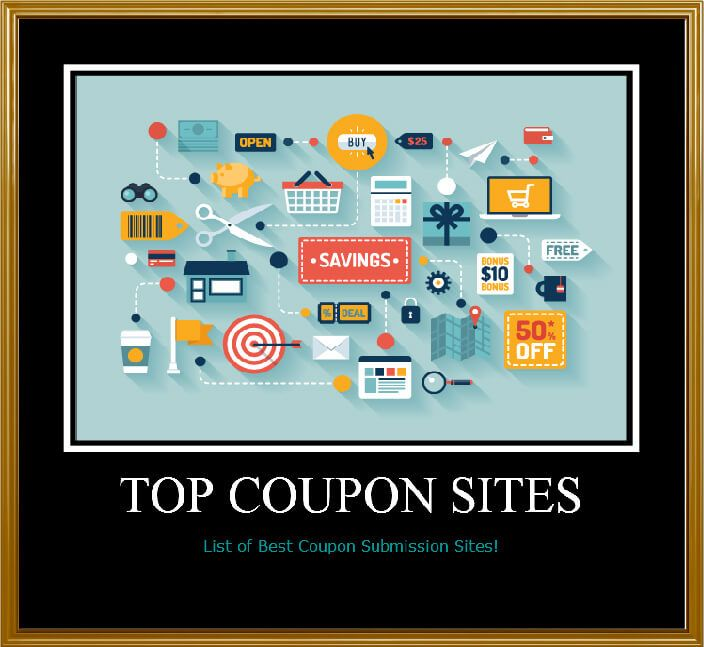 25 Top Sites to search #coupons #deals or #discounts  #shopping