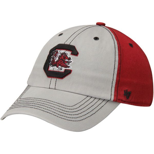 Men's South Carolina Gamecocks '47 Brand Gray Tumult Clean Up Adjustable Hat - $16.99