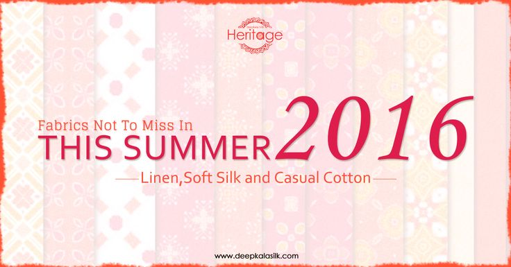 Be #summer ready with our lovely outfits in cool linens, cottons and soft silks. Shop now for the latest #designs at great prices at http://goo.gl/1hKV7n!