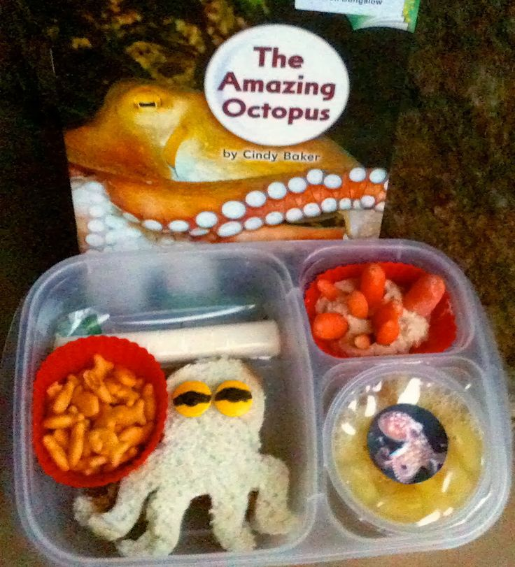 Keitha's Chaos: The Amazing Octopus lunch