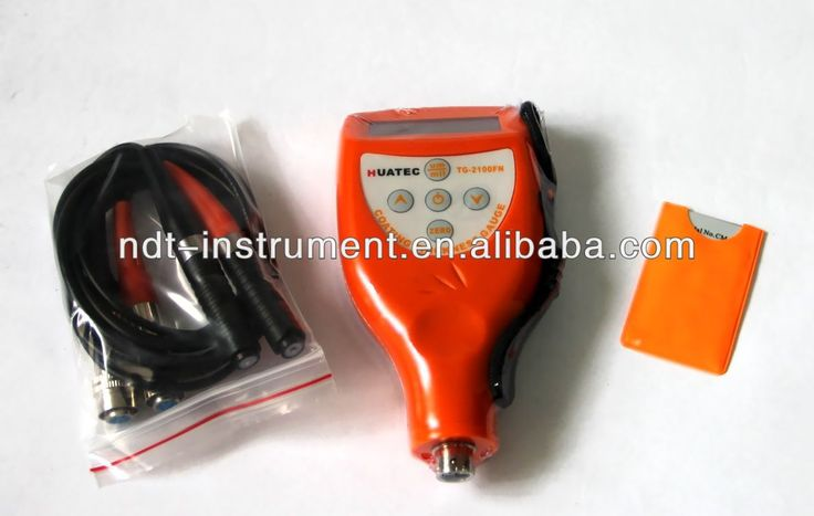 HUATEC eddy current machine 0-5000 micro elcometer, coating thickness gage $160~$180