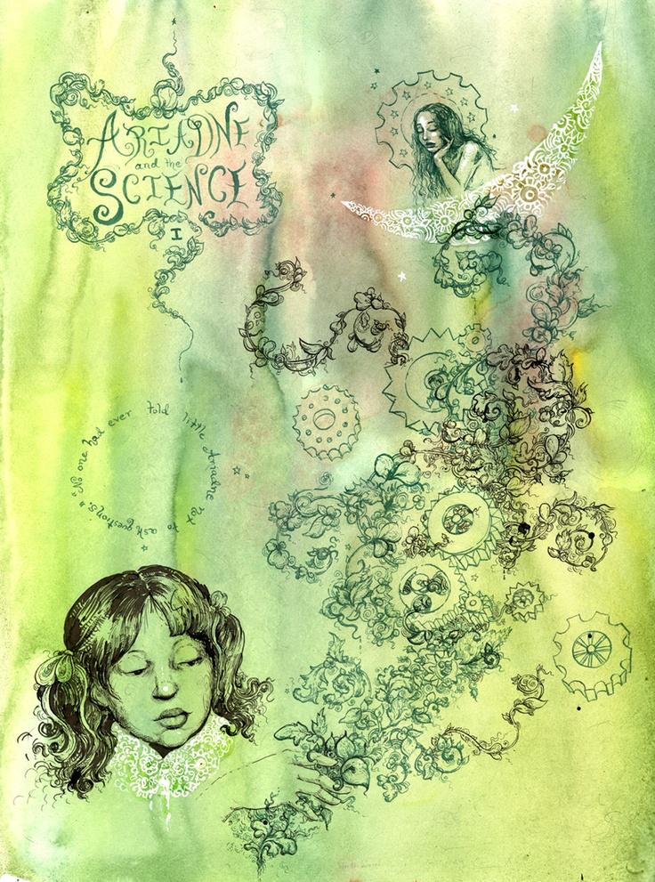 Warren Ellis » ARIADNE AND THE SCIENCE: 1/5–by Molly Crabapple & Warren Ellis