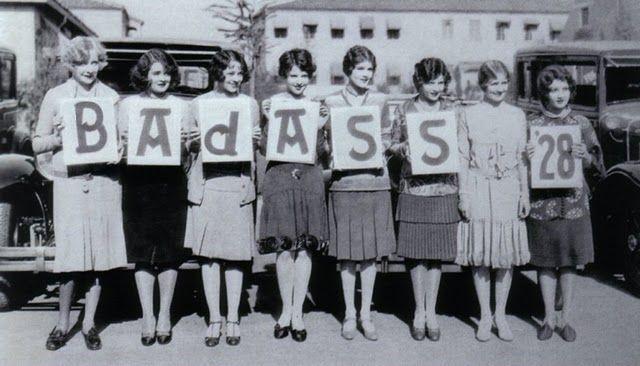 bad ass girls, 1928