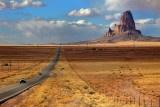 Navajo sacred mountain - Kayenta - Navajo Nation