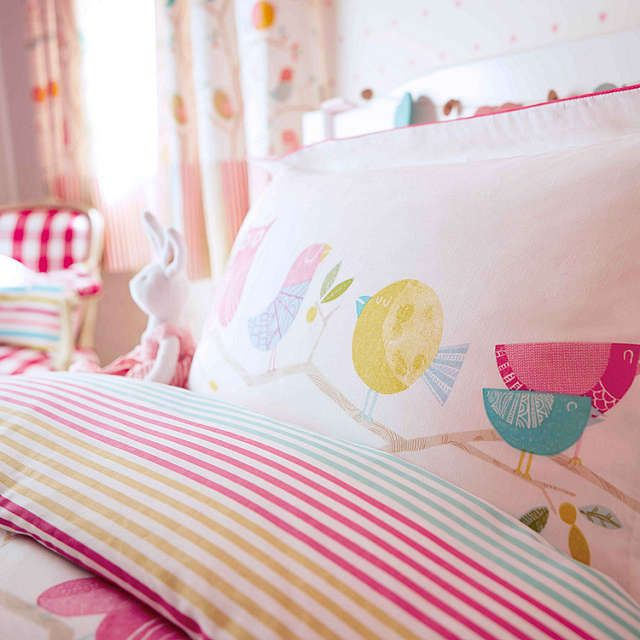 Harlequin What A Hoot Owls Duvet Cover and Pillowcase Set at John Lewis