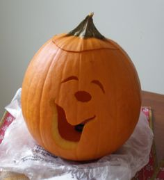 funny faces pumpkin for halloween