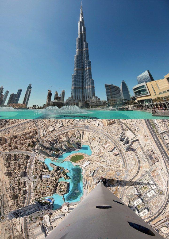 Burj Khalifa Top Views Ever