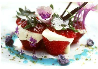 Ricette dessert: fragole farcite con crema al mascarpone