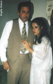 """This is mob phot gold , alphonse persico and Mary Bari. Alphonse T. Persico, known as Little Allie Boy or just Allie Boy, is a former acting boss of the Colombo crime family from the 1980s and 1990s. He is not to be confused with his uncle of the same name, who was also a Colombo family mobster known as """"Allie Boy"""", who died in 1989."""