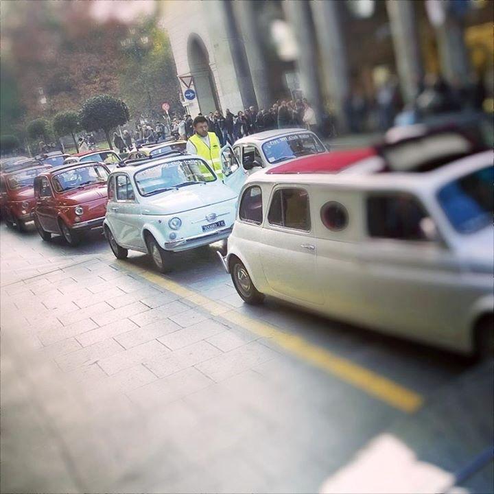 Sabato a Torino al raduno della vecchia 500