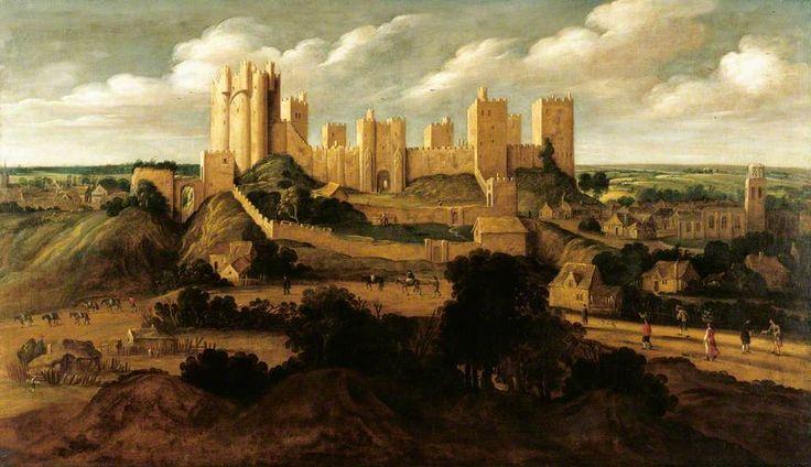 Alexander Keirincx (1600–1652) Pontefract Castle, Pontefract, West Yorkshire, England circa 1640/1641