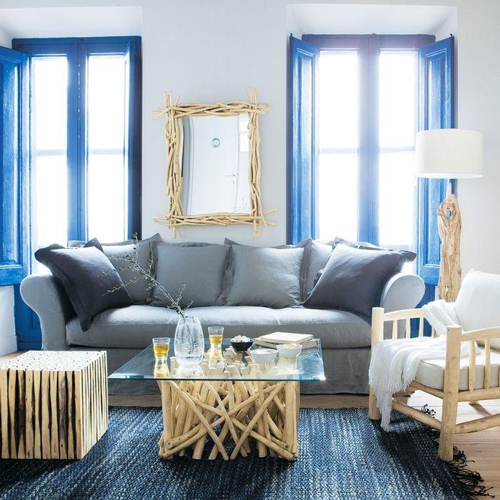 242 Best Images About Interior Design: Blue Livingroom