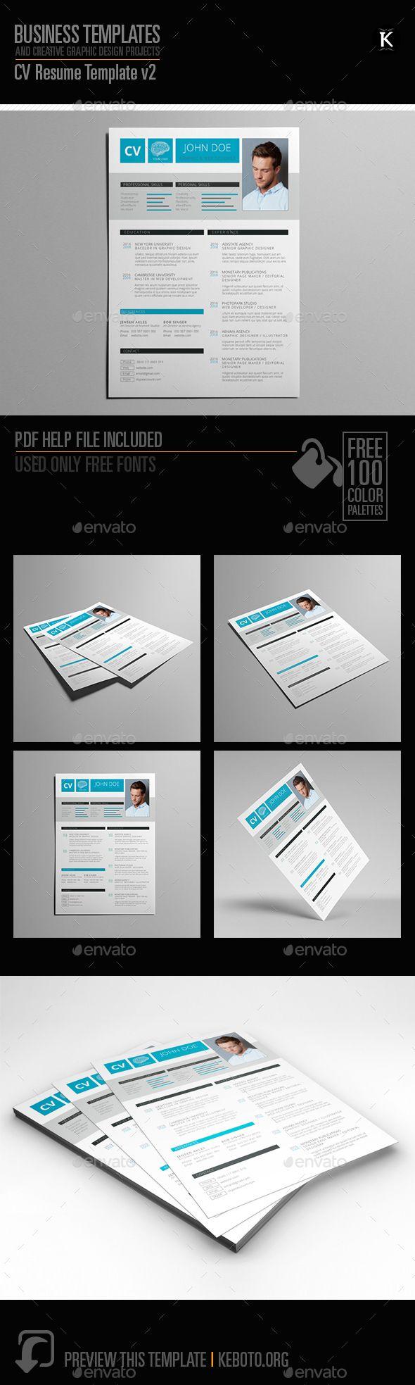 525 best Resume images on Pinterest | Creative resume design, Resume ...