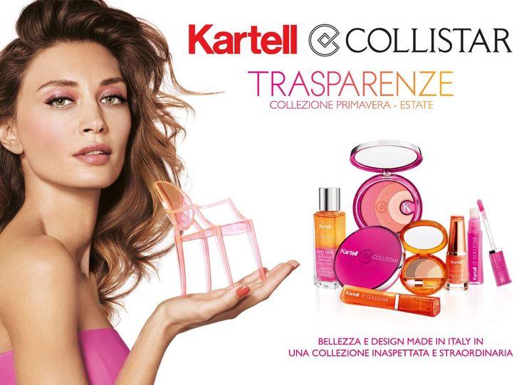 Trasparenze - Collezione trucco primavera estate #Collistar #kartell