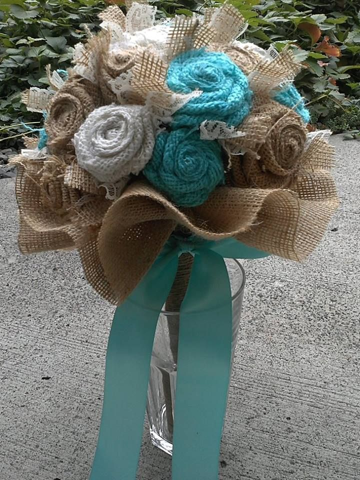 Liking this idea for bridesmaids... They can keep them instead of tossing one made of real flowers.