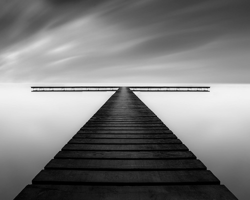 The composition of this image is superb; it almost appears geometrically perfect. It must surely be an image that mathematicians would love! The long exposure smooths out the sea and clouds and leaves you to focus entirely on the lines and angles of the jetty, which pulls you into the centre of the image.